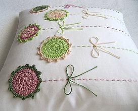 Úžitkový textil - alchýmia čajových ruží... - 8096657_