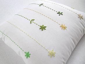 Úžitkový textil - menšie hand made jarné tóny... - 8097353_