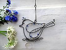 Dekorácie - holúbok z Modry - 8099356_