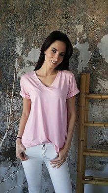 Tričká - Tričko Vilma ružové - 8098362_