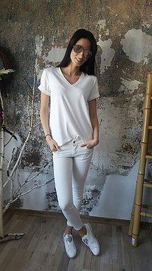 Tričká - Tričko Vilma biele - 8098440_