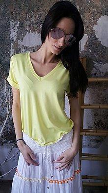 Tričká - Tričko Vilma žlté - 8098467_