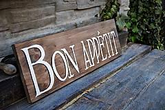"""Tabuľky - Doska """"Bon Appetit"""" - 8097490_"""