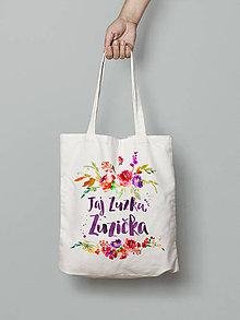 Nákupné tašky - Jaj Zuzka, Zuzička - 8100803_
