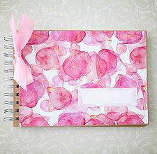 Papiernictvo - Scrapbook album / kniha hostí WATERCOLOR - 8101281_