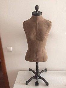 Dekorácie - Vintage manekína/busta