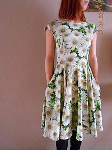 Šaty - Margarétky v tráve... - 8102003_