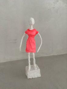 Dekorácie - Socha dievča - 8101283_