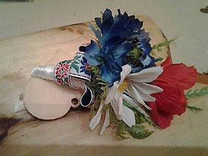 Pierka - svadobné pierko FOLK pre ženícha - 8103193_