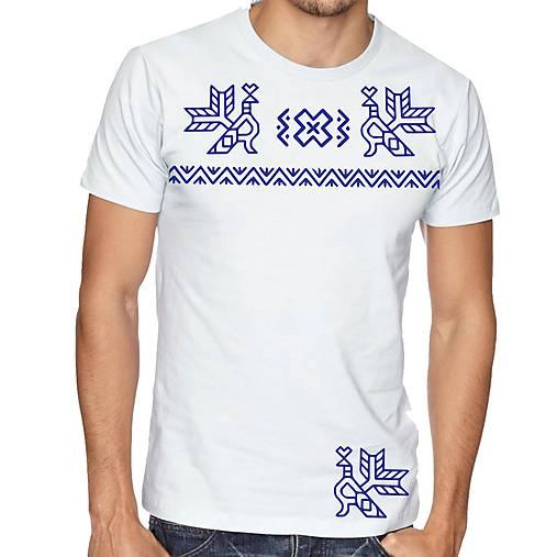 Tričko  vzor čičmany 02
