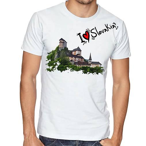 Tričko chlapčenské a pánske Oravský hrad ILS 01