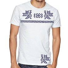 Oblečenie - Tričko  vzor čičmany 02 - 8102294_