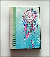 Ručne šitý diár * sketchbook * zápisník A5
