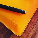 Na tablet - Kožený obal na tablet, diár a vizitky - 8103035_
