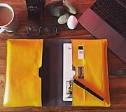 Na tablet - Kožený obal na tablet, diár a vizitky - 8103038_