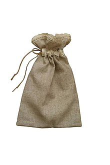 Úžitkový textil - Vrecko na pečivo - 8100500_