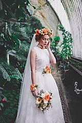 """Ozdoby do vlasov - Výpredaj z 55 eur Kvetinový venček """"vôňa slnečných dní"""" - 8100509_"""