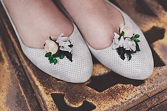 Obuv - Greenery klipy na topánky