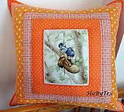 Úžitkový textil - Vankúš na vidiek - 8103089_