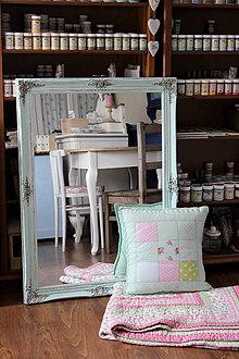 Zrkadlá - Kráľovské mentolové zrkadlo - predané - 8100849_
