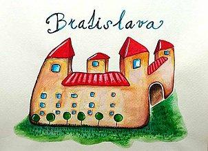 Obrazy - Bratislavský hrad - 8101647_