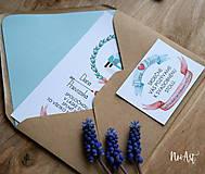 Papiernictvo - Svadobné oznámenie 18 - 8106287_