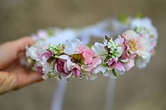 Ozdoby do vlasov - Ranná vôňa v záhrade ruží - 8104698_