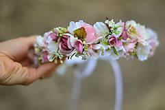 Ozdoby do vlasov - Ranná vôňa v záhrade ruží - 8104699_