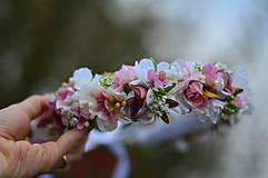 Ozdoby do vlasov - Ranná vôňa v záhrade ruží - 8105897_