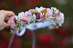 Ozdoby do vlasov - Ranná vôňa v záhrade ruží - 8105901_
