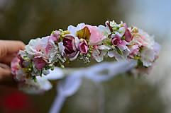 Ozdoby do vlasov - Ranná vôňa v záhrade ruží - 8105902_