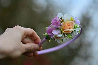 Ozdoby do vlasov - Kvetinová neha - 8105870_