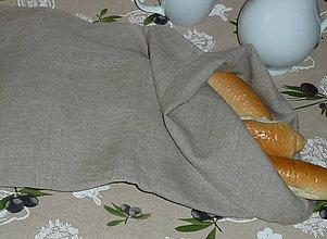 Úžitkový textil - Ľanové vrecko obyč 2-vrstvové - 8103700_