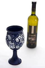 Nádoby - Kobaltová čaša - 8105116_