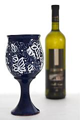 Nádoby - Kobaltová čaša  - 8105120_