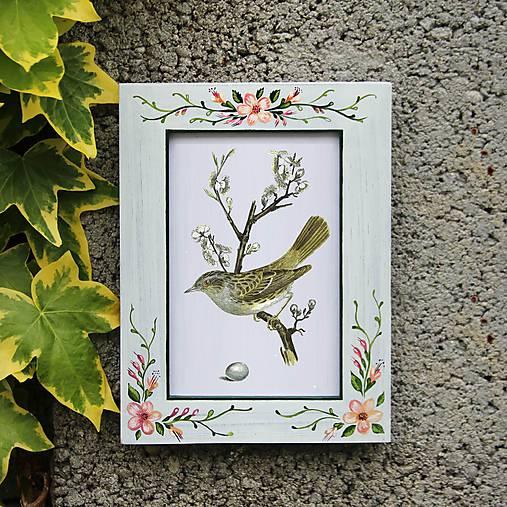 Maľovaný rámček - Jabloňový sad