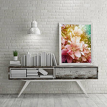 Grafika - JAR (JABLOŇOVÉ KVETY fotoplátno 40x50 cm) - 8106100_