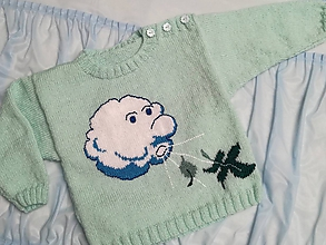 Detské oblečenie - Detský pulovrík :   VETRÍK - 8104304_