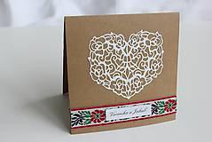 Papiernictvo - Ľudové svadobné oznámenie - 8105278_
