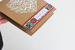 Papiernictvo - Ľudové svadobné oznámenie - 8105281_