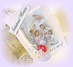 Papiernictvo - Karta s príhovorom krstného otca pre Natálku - 8103623_