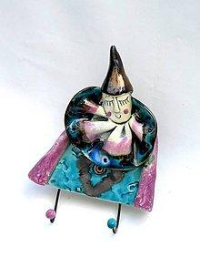 Nábytok - vešiak klaun - 8104157_