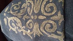 Úžitkový textil - dark curtain/záves/obrus/ - 8103644_