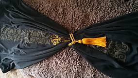 Úžitkový textil - dark curtain/záves/obrus/ - 8103653_
