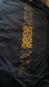 Úžitkový textil - dark curtain/záves/obrus/ - 8103666_
