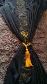 Úžitkový textil - dark curtain/záves/obrus/ - 8103669_