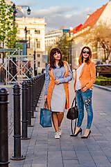 Kabáty - Svieže oranžové sako - 8103841_