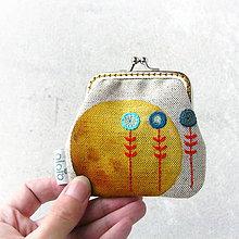 Peňaženky - Peňaženka mini Slniečková - 8103562_