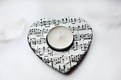 Svietidlá a sviečky - Muzikantský svietnik - 8105700_