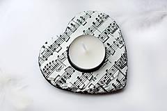 Svietidlá a sviečky - Muzikantský svietnik - 8105702_